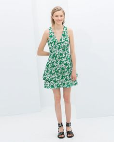 Find More Intimates Information about The new 2014 fashion novelty deep V  neck printed women's summer dress Slim dress casual dress big yards ladies Street,High Quality Intimates from meilishuo on Aliexpress.com