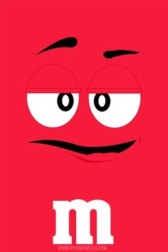 Wallpaper:M vermelho