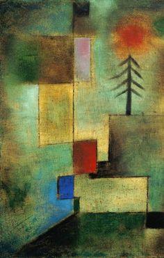 Paul Klee - Kleines Tannenbild (1922)