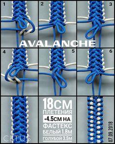 from - Vortex modified/Вихрь модификация. Paracord Bracelet Designs, Paracord Keychain, Bracelet Knots, Paracord Projects, Bracelet Crafts, Paracord Bracelets, Paracord Weaves, Paracord Braids, Paracord Knots
