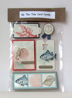 by the tide--Card Candy---