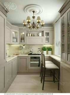 Kitchen Remodeling: Choosing a New Kitchen Sink - Kitchen Remodel Ideas Modern Grey Kitchen, Grey Kitchen Designs, Interior Design Kitchen, Kitchen Decor, Kitchen Ideas, Small Space Kitchen, Kitchen Cabinetry, Glass Cabinets, Cuisines Design