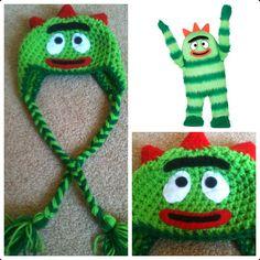 Crochet Brobee Beanie/Hat by Potterfreakg on Etsy, $15.00