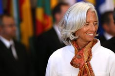 Christine Lagarde Christine Lagarde, Managing Director of the International Monetary Fund (IMF), attends a luncheon for delegates and heads ...