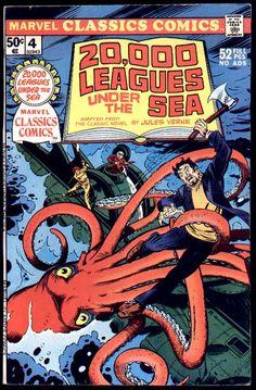 20,000 Leagues Under the Sea Comic!