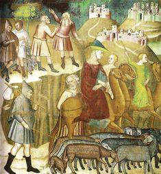 Fredi, Bartolo - Schène de l'Ancien Testament - Collegiata, San Gimignano