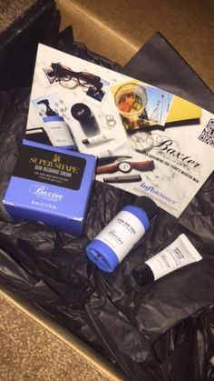 Free products via Influenster and Baxter of California