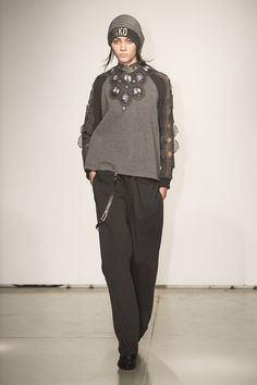Grinko at Milan Fashion Week Fall 2016.