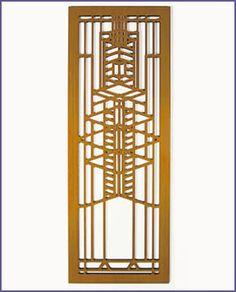 Frank Lloyd Wright Hardwood Home Accesories