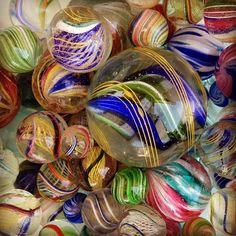 german swirl marbles