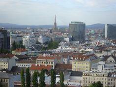 Wien von oben - September 2011