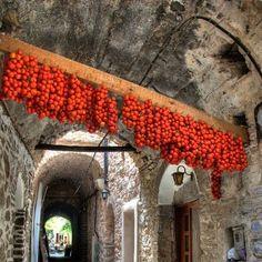 ღღ Tomato Tunnel - Chios Island, Greece by deanna Santorini, Mykonos, Chios Greece, Crete, Samos, Beautiful World, Beautiful Places, Places To Travel, Places To Visit