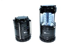 2 Pack of Water Resistant Portable Ultra Bright LED Lantern Flashlight for Hiking, Camping, Blackouts, Black, 2 Pack -- Continue to the product at the image link.