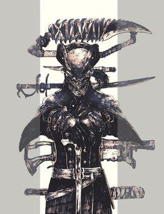 Old Blood, Dark Blood, Video Game Art, Video Games, Soul Saga, Character Art, Character Design, League Of Legends, Bloodborne Art