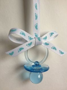 Superior Baby Shower Pacifier Necklace/ One Dozen By MarcenariPartyDecor, $7.99