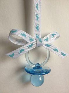 baby shower pacifier necklace one dozen by marcenaripartydecor