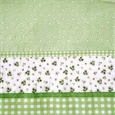 Decoupage paper napkins, green flowers, Set of two paper napkins, size 33x33 cm (no.54) by ArsaiSupplies on Etsy