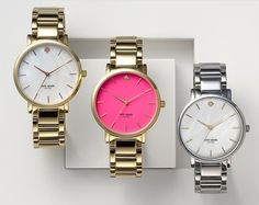 Oh amazing!!!!!!!!Kate spade watches- die for the gold and pink!!