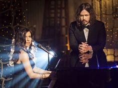 Joy at the piano and John singing
