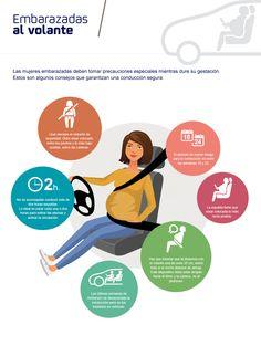 Si estás #embarazada y tienes que coger el coche, no te pierdas estos #consejos ;) ¡En Secuvita siempre pensamos en ti! #mamas #bebes #padres