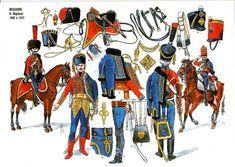 Les cavaliers de la Grande Armée :: 6 ème Hussards