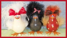 pdf ePattern ChiCkEn hEn rEcYcLeD LiGhT BuLb fArM AniMaL ofg pRiM cHiCk acrylic painting paTTern 726 SHABBY CHICKS. $7.50, via Etsy.