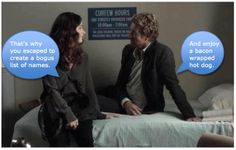 "The Mentalist - ""Green Thumb""  Oh Jane xD"