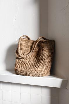 Handwoven Hemp Tote Bag