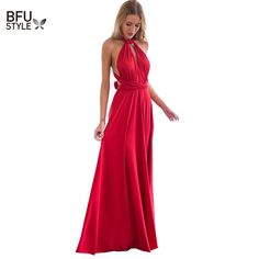 Sexy Women Multiway Wrap Convertible Boho Maxi Club Red Dress Bandage Long Dress Party Bridesmaids Infinity Robe Longue Femme-in Dresses, Maxi Club Red Dress, Long dress party bridesmaids, Bridesmaids dress, Sexy Dresses, Club Dresses, Cheap Dresses, Maternity Dresses, Dresses Art, Dress Suits, Stunning Dresses, Casual Dresses, Casual Outfits