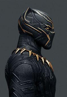 "johnnybravo20: "" Black Panther (by John Aslarona)"""