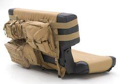Jeep Accessory - Smittybilt Jeep Wrangler G.E.A.R. Rear Seat Cover - CJ / YJ / TJ / LJ