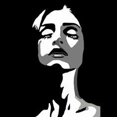 Pop Art Drawing, Cool Art Drawings, Art Drawings Sketches, Hipster Drawings, Pop Art Portraits, Portrait Art, Pop Art Face, Desenho Pop Art, Abstract Face Art