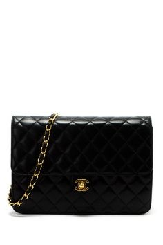 Vintage Chanel Matelasse Single Chain Shoulder Bag by Vintage Bags: Louis Vuitton, Chanel & More on @HauteLook