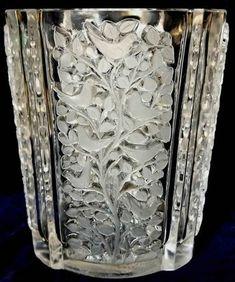 Rene Lalique Quatre Panneaux Vase circa 1938