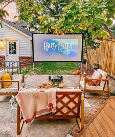 """MELANIE on Instagram: """"Saturday movie nights at home just got a whole lot more magical. ✨ ⠀⠀⠀⠀⠀⠀⠀⠀⠀ I have been loving making our backyard feel extra cozy and…"""""""
