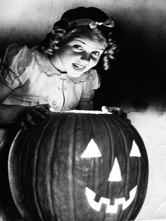 Halloween Jack-o-Lantern, 1947