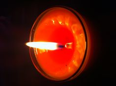 Espelma amb pell i esència de taronja