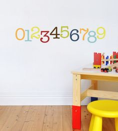 Paint by Number Murals for Kids Room