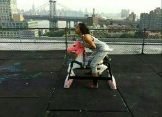 Lorna, Brooklyn Rooftop Portrait  http://tsu.co/marieeestrada