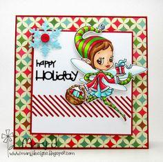 Where's my creativity?: New Alicia Bel challenge - Christmas!