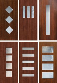 13 Places to Buy or DIY Mid Century Modern Front Doors - Retro Renovation