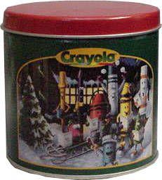 crayola tin | Crayola Collectibles - Crayola Crayon Tins - Crayola Tips Tin 1999