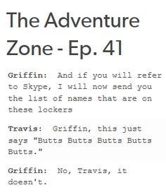 The Adventure Zone Quotes 2