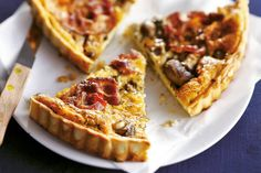 Spekquiche Savory Tart, Brunch, Cheat Meal, High Tea, Quiche Lorraine, Food Inspiration, Food And Drink, Quiches, Snacks