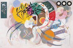 Courbe dominante, par Wassily Kandinsky - 1936