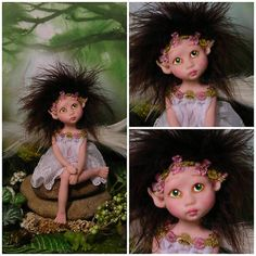Fairy+Fairies+Fae+pixie+elf+Angel+OOAK+Fantasy+Art+Doll+By+Lori+Schroeder