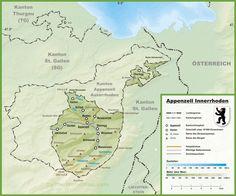 Map of Canton of Jura map karte carte mappa Pinterest Switzerland