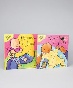 Take a look at this Touch and Tickle & Bounce and Jiggle Board Books by Childs Play on #zulily today!
