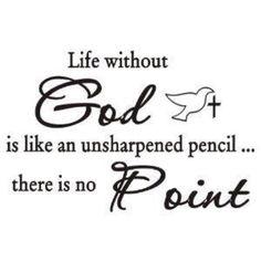 Life without God