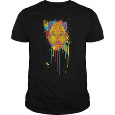 Cool Cat Theory  Leopard cat t shirt T shirts